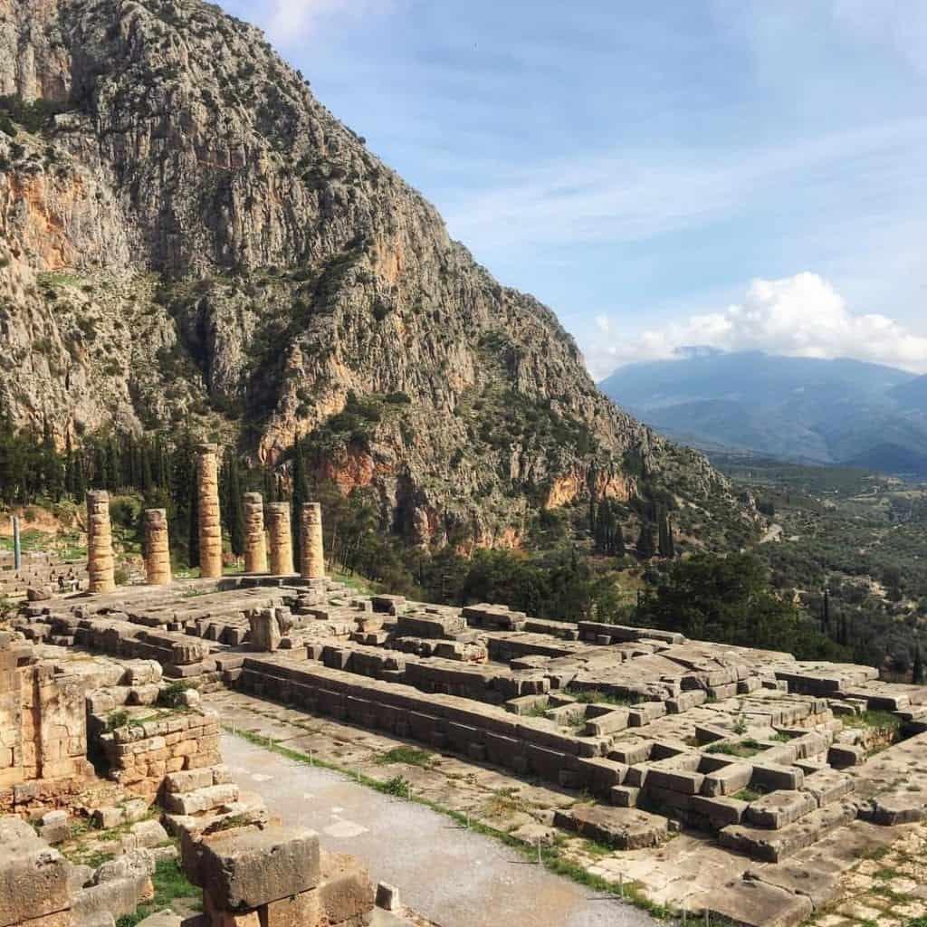 Greece - Delphi - Temple of Apollo