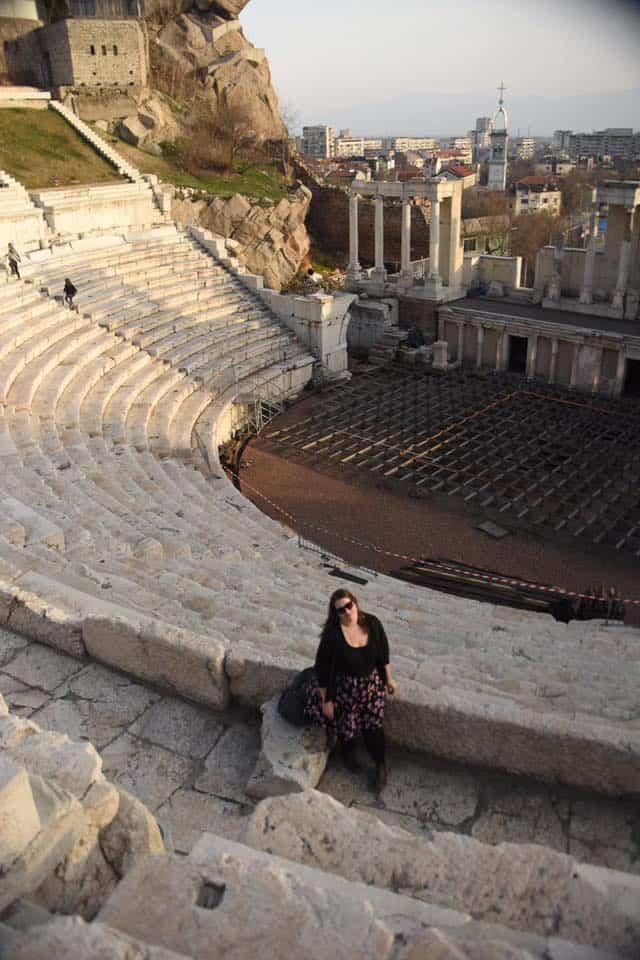Bulgaria - Plovdiv - Plovdiv Roman Theater