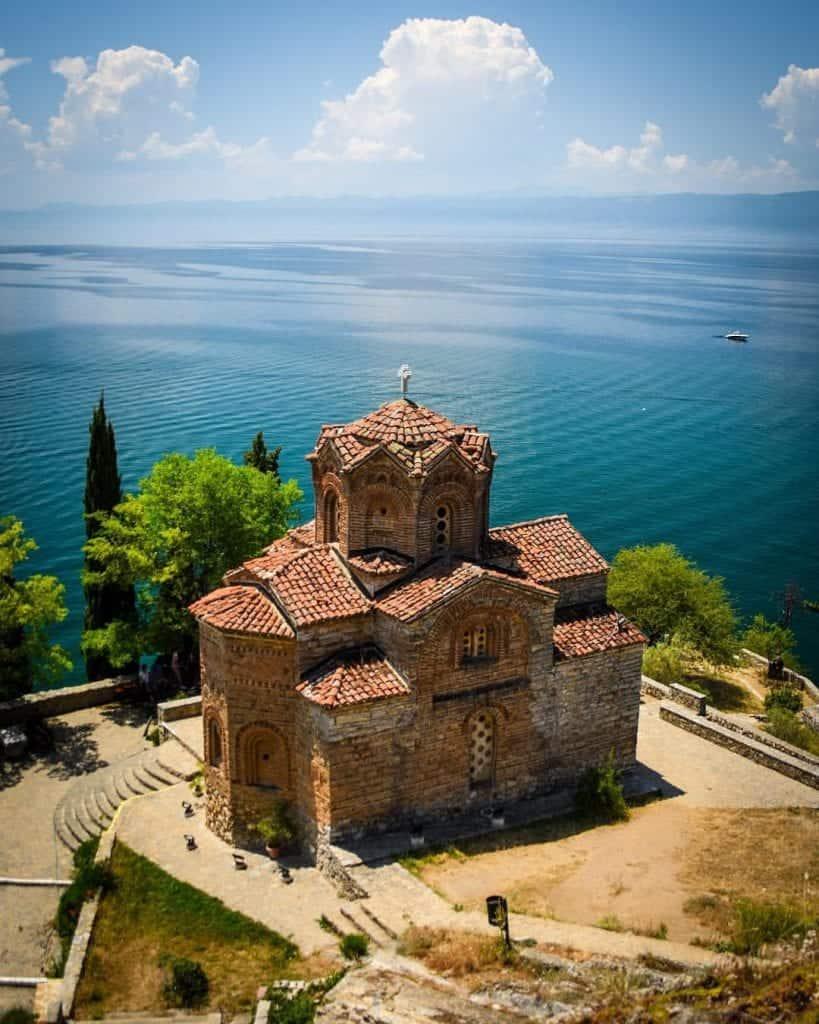 Macedonia - Ohrid - Church of St. John the Theologian