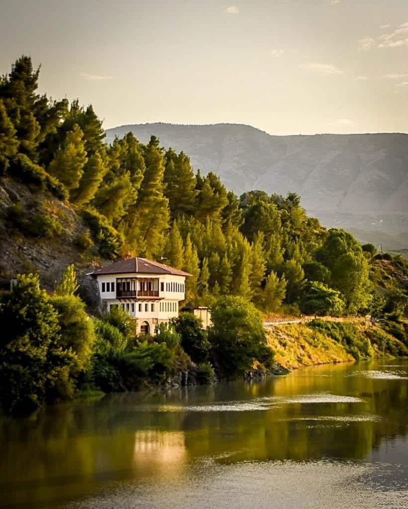 Albania - Berat - House on the Osum River