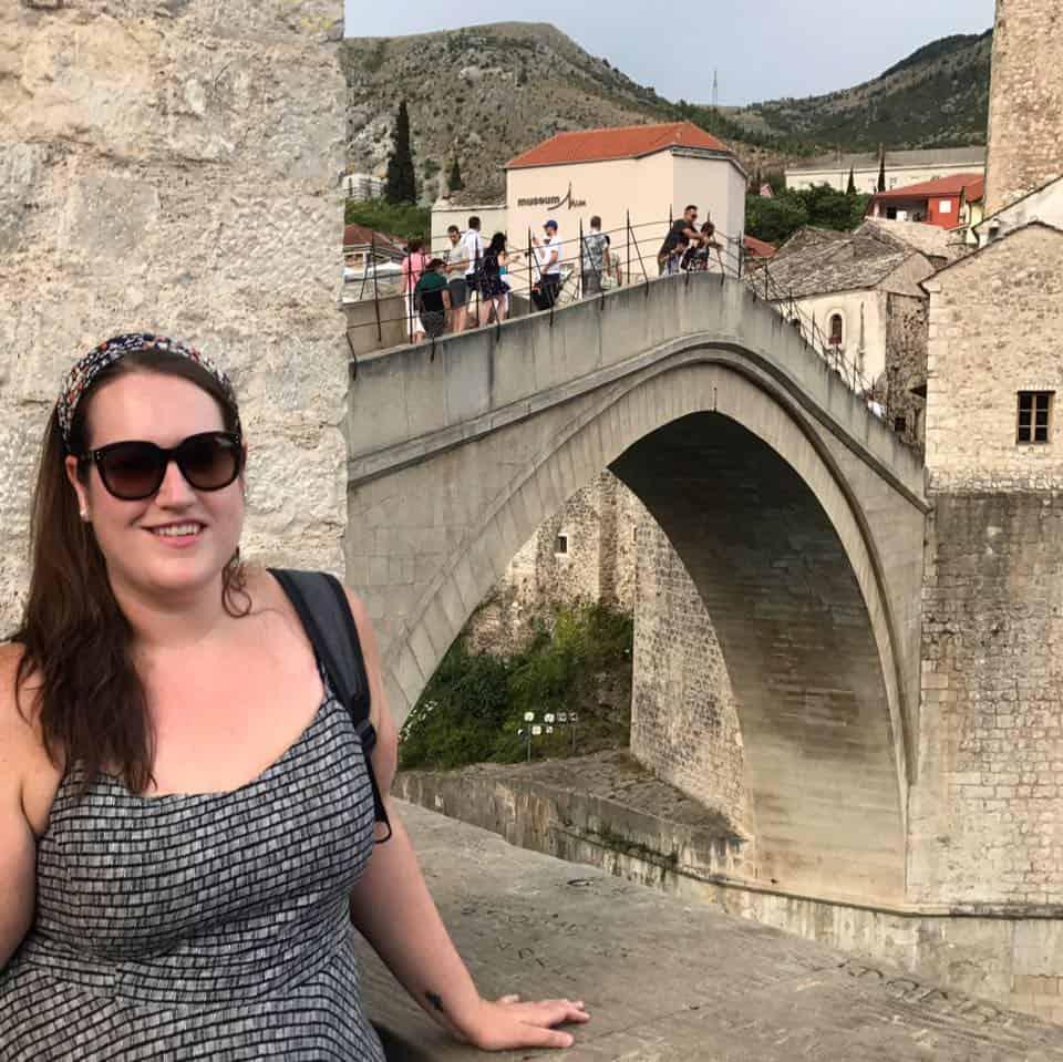 Bosnia - Mostar - Stephanie