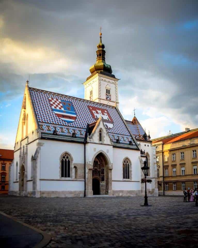 Croatia - Zagreb - Saint Mark's Square
