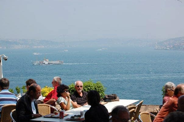 Turkey - Istanbul - View from the Cafeteria at Topkapi Palace