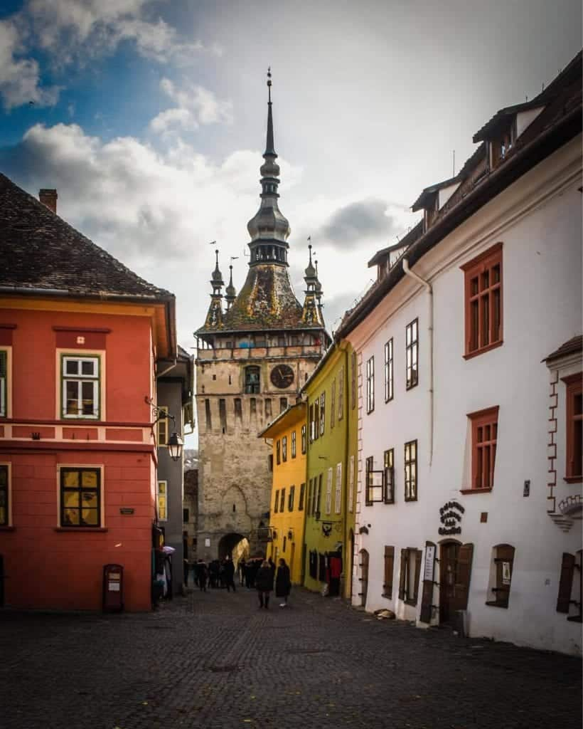 Romania - Sighisoara - Clock Tower