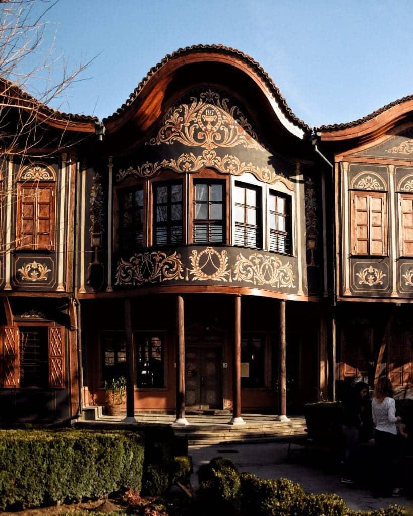 Bulgaria - Plovdiv - Bulgarian National Revival Style House