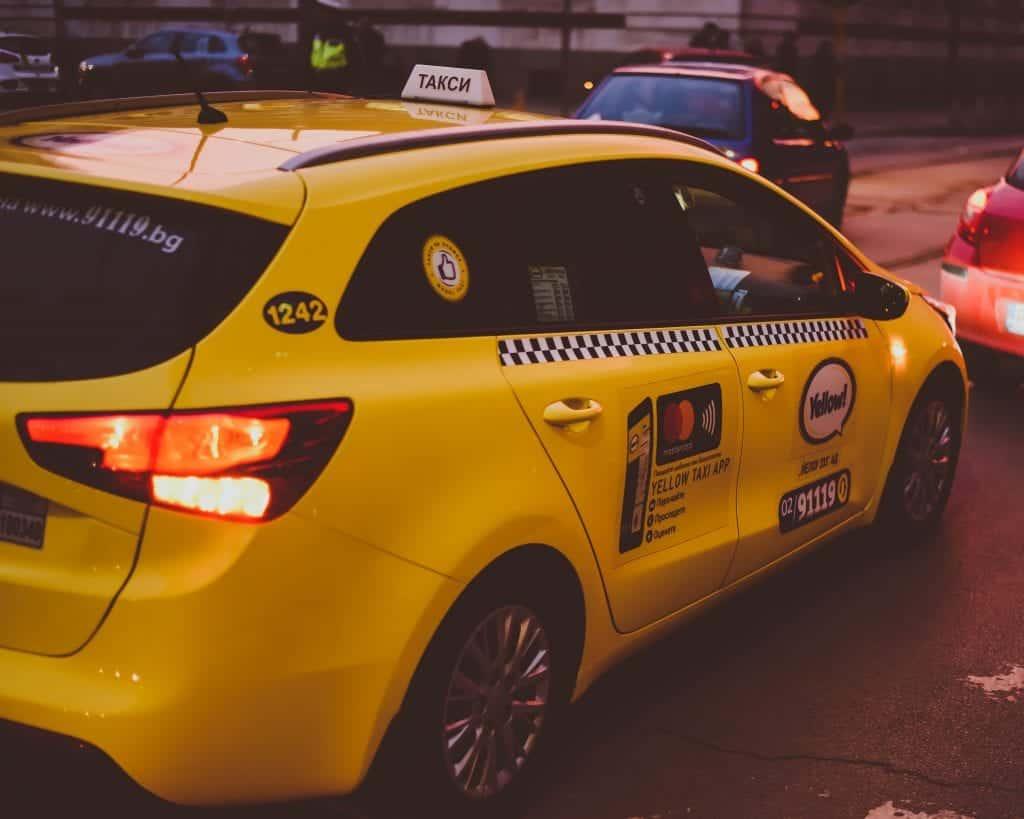 Bulgaria - Sofia - Taxi