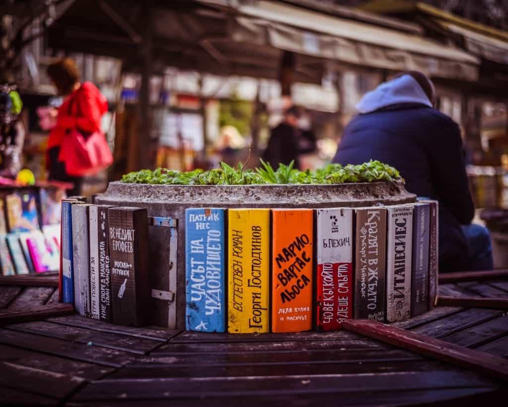 Bulgaria - Sofia - Slaveykov Square Open Book Market