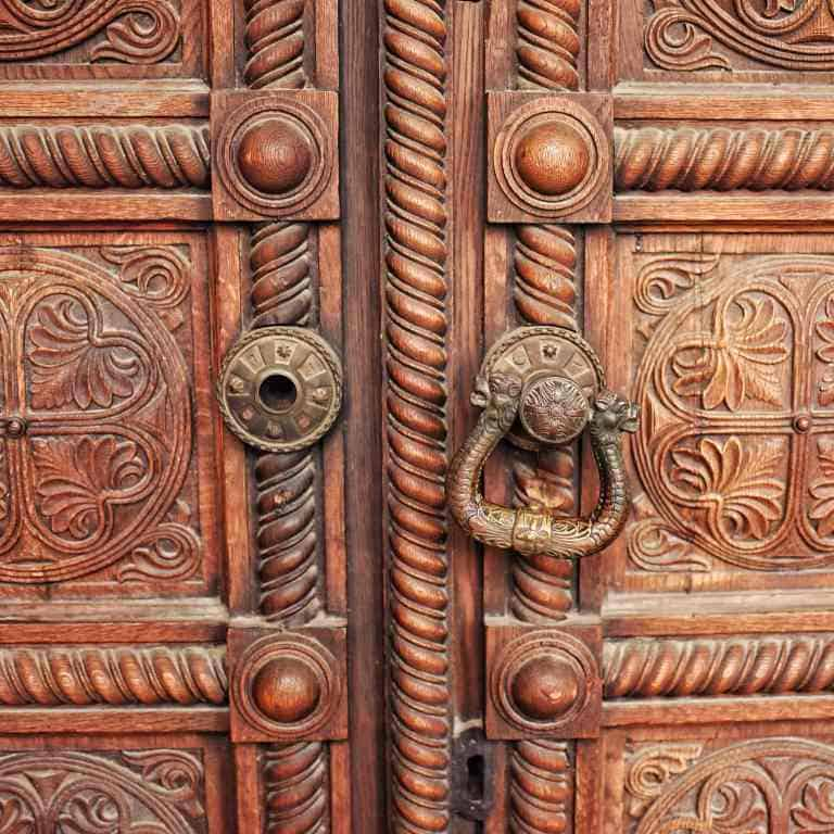 Bulgaria - Sofia - Doors of Alexander Nevsky