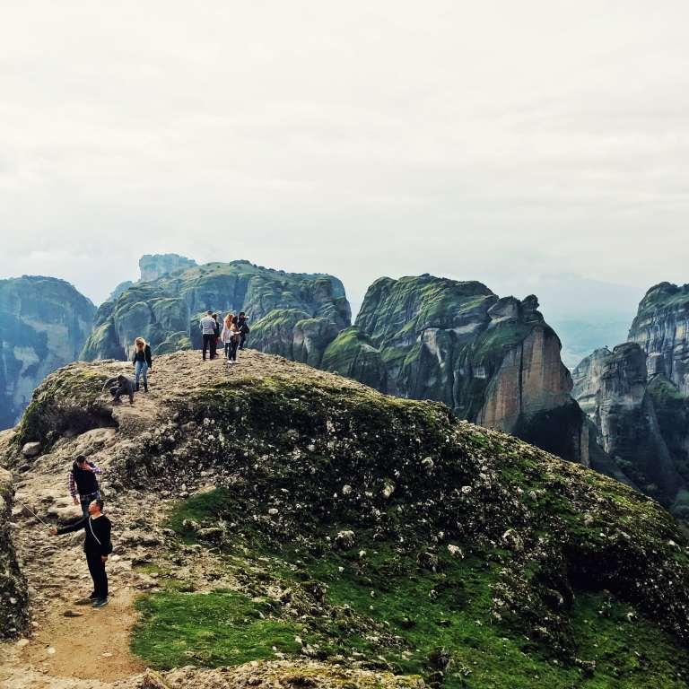 Greece - Meteora - On the Cliffs