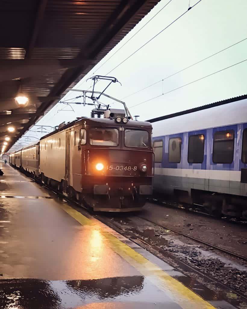Romania - Bucharest - Train Station