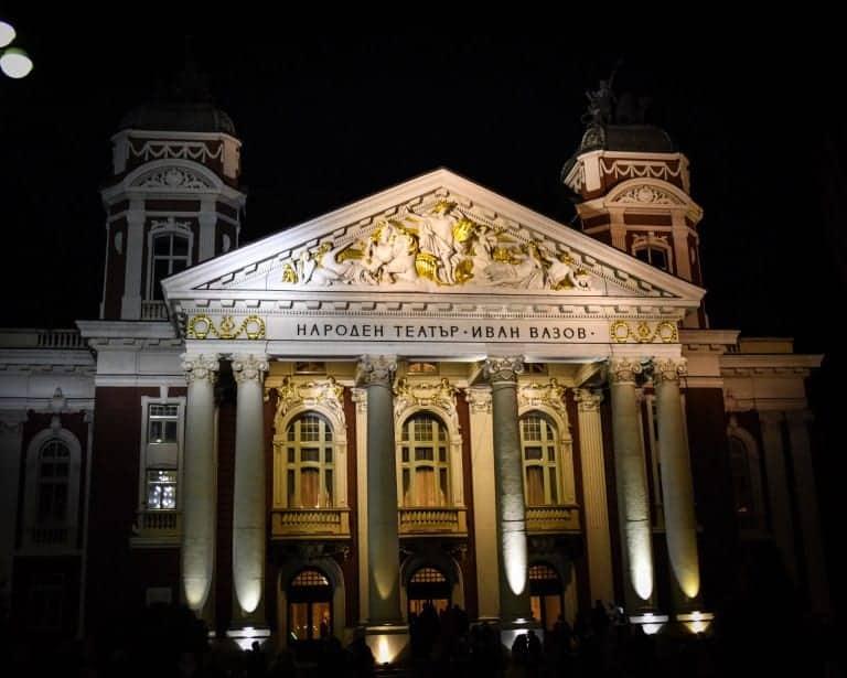 Bulgaria - Sofia - Ivan Vazov Theater