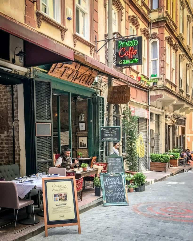 Turkey - Istanbul - Privato Cafe