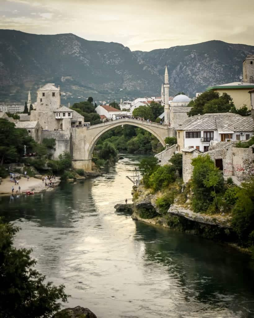 Bosnia - Mostar - Old Bridge of Mostar