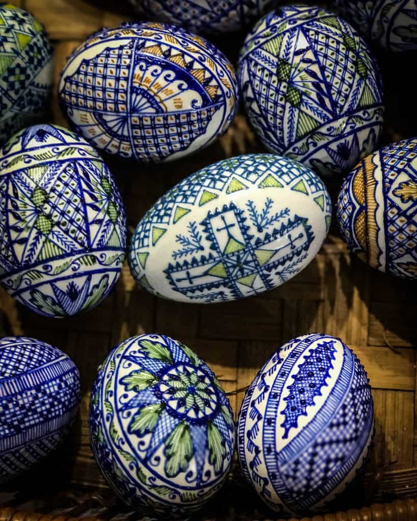 Romania - Bucovina - Painted Eggs