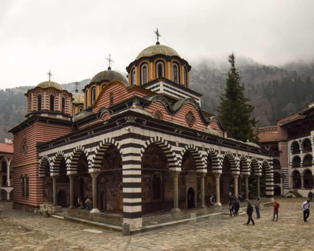 Bulgaria - Sofia - Rila Monastery Landscape