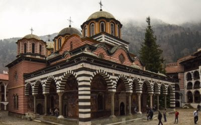 Going From Sofia to Rila Monastery, Bulgaria