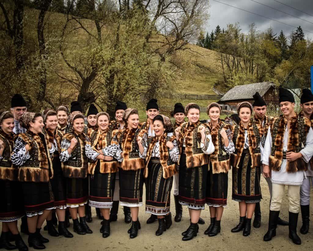 Romania - Bucovina - Folk Dancers