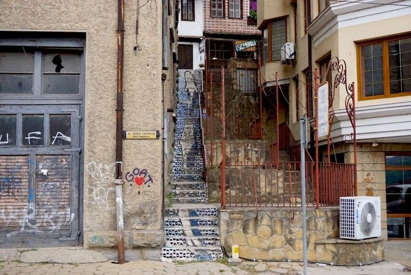 Bulgaria - Veliko Tarnovo - Street art
