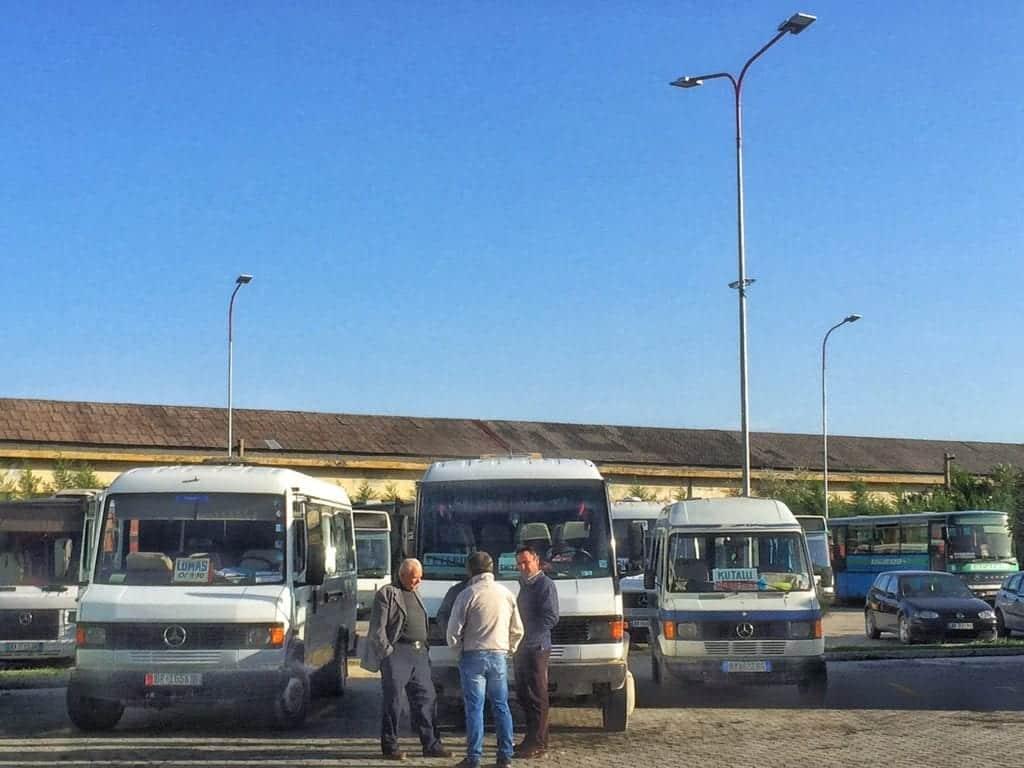 Albania - Berat - furgon bus