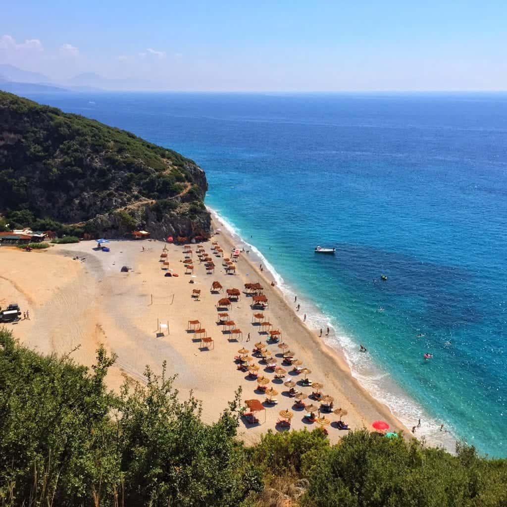Albania - Himara Albanian Riviera - Gjipe Beach