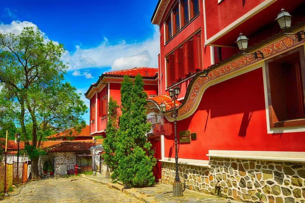 Bulgaria - Plovdiv - Old Houses - Pixabay