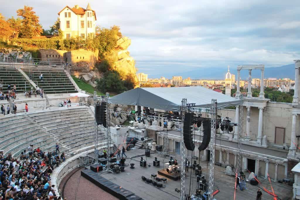 Bulgaria - Plovdiv - Roman Theater Performance - Pixabay
