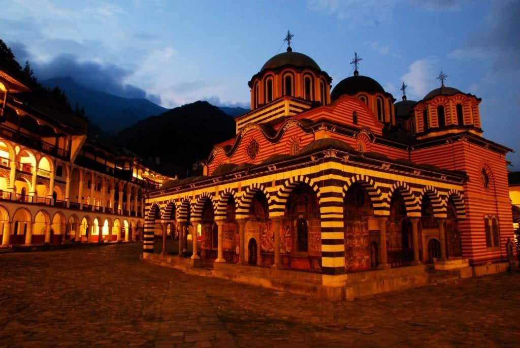 Bulgaria - Rila - Rila Monastery at Night from Pixabay