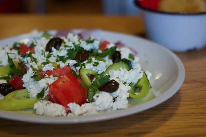 Balkan food collab - Shopska Salad