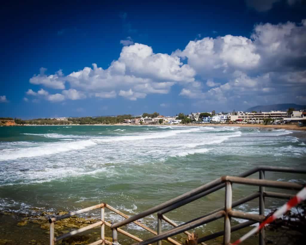 Greece - Crete - Chania Beach - Best Beaches in Crete - Cretan Beaches