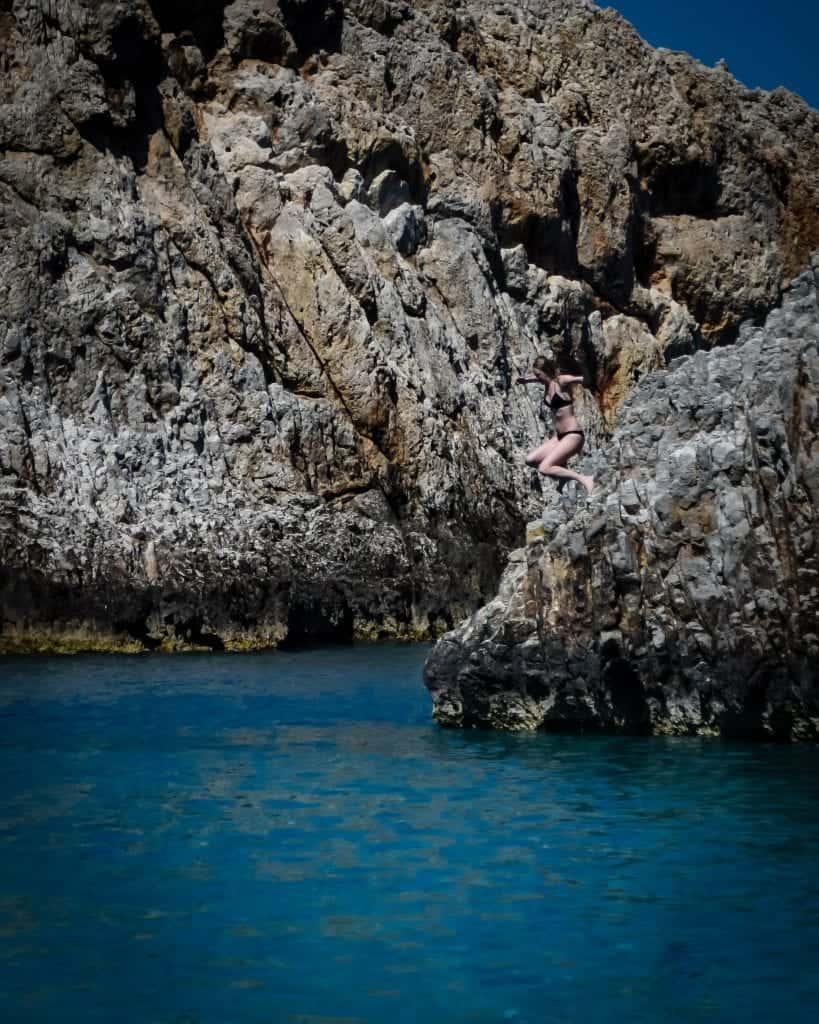 Greece - Crete - Seitan Limania Cliff Jumping
