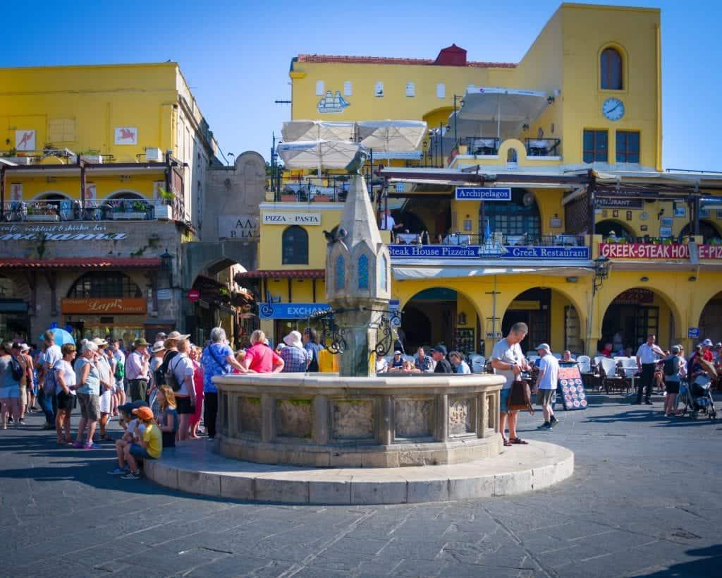 Greece - Rhodes - Fountain