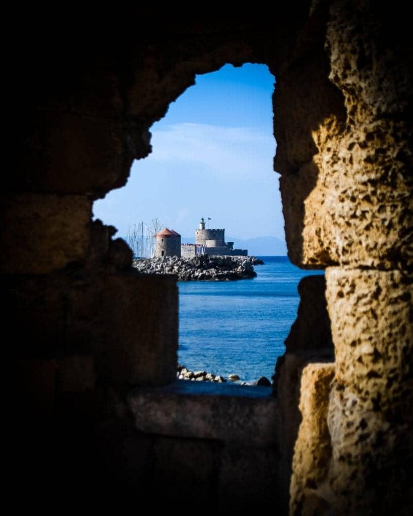 Greece - Rhodes - Fort St. Nicholas