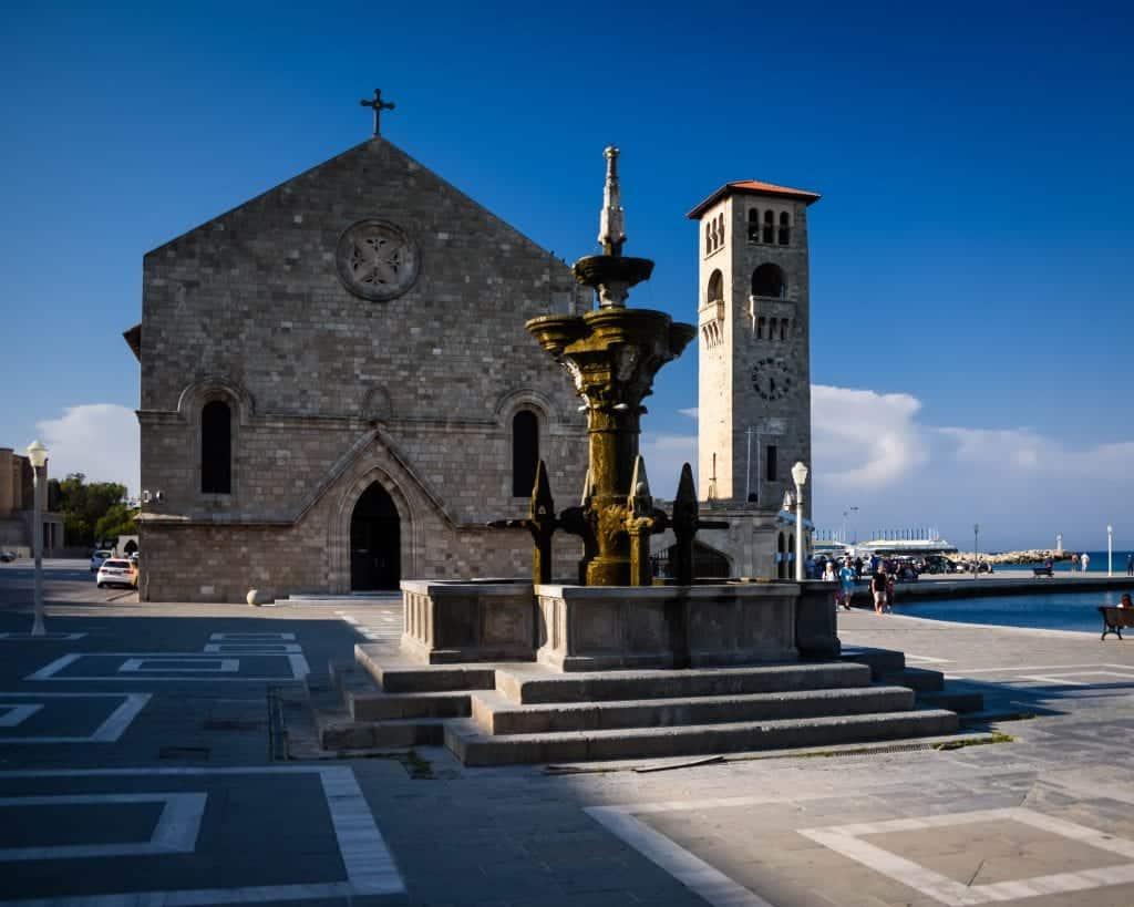 Greece - Rhodes - Church