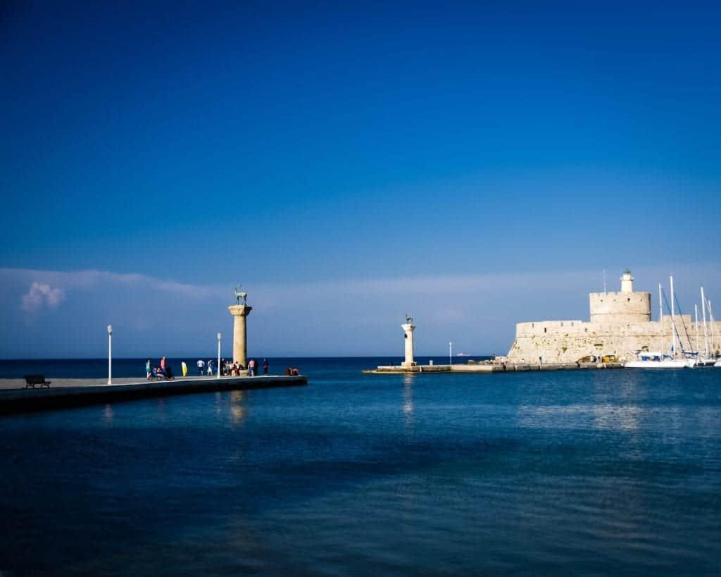 Greece - Rhodes - Colossus fo Rhodes