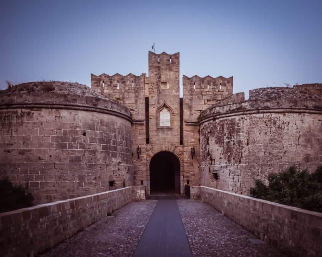 Greece - Rhodes - Walls