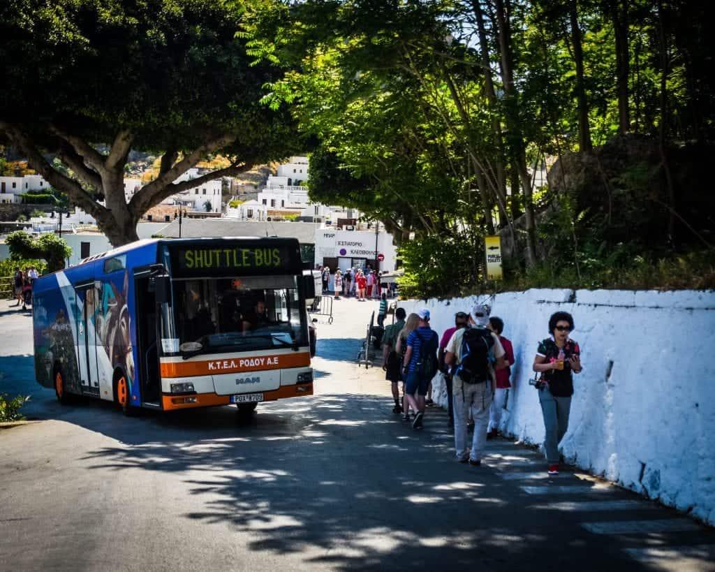 Greece - Rhodes - Lindos Shuttle