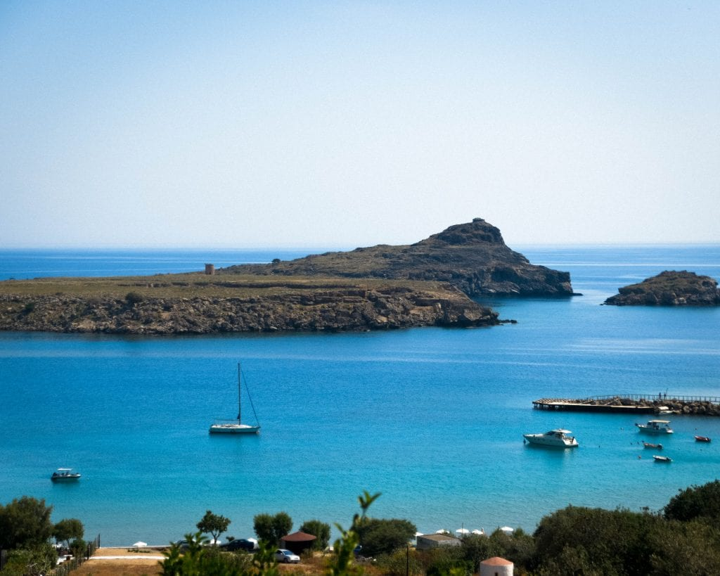 Greece - Rhodes - Lindos Beach