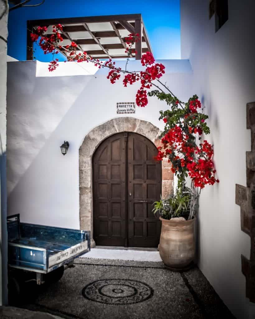 Greece - Rhodes - Lindos Door