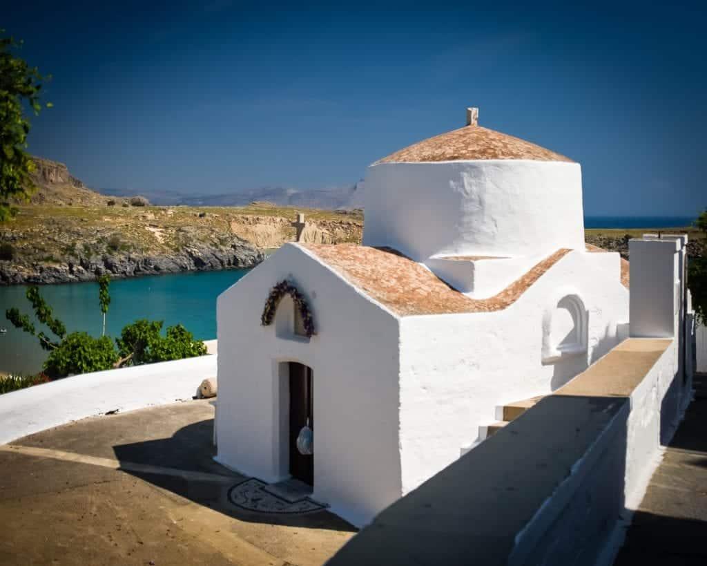 Greece - Rhodes - Lindos Church