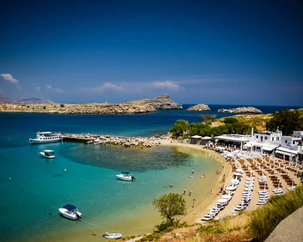 Greece - Rhodes - Lindos Beach