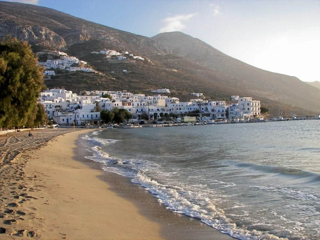 Greece - Amorgos - Beach - Pixabay