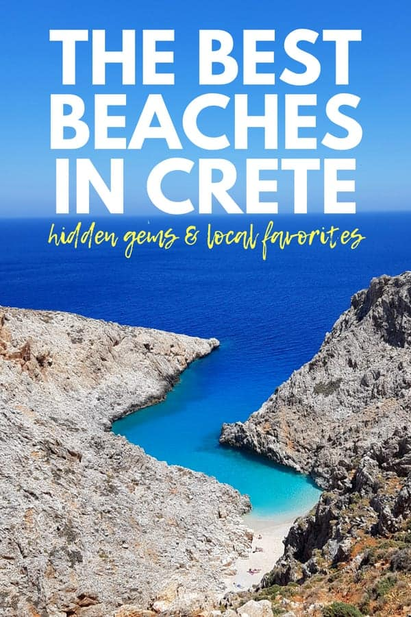 The Best Cretan Beaches - The Best Beaches in Crete