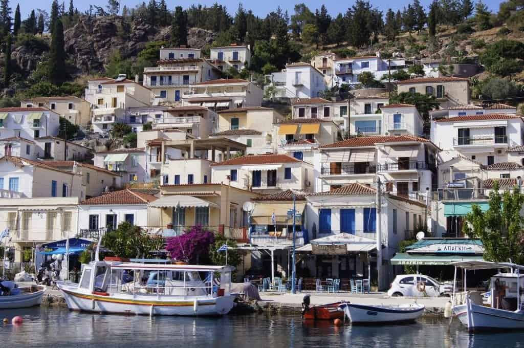 Greece - Paros - Boats and Houses