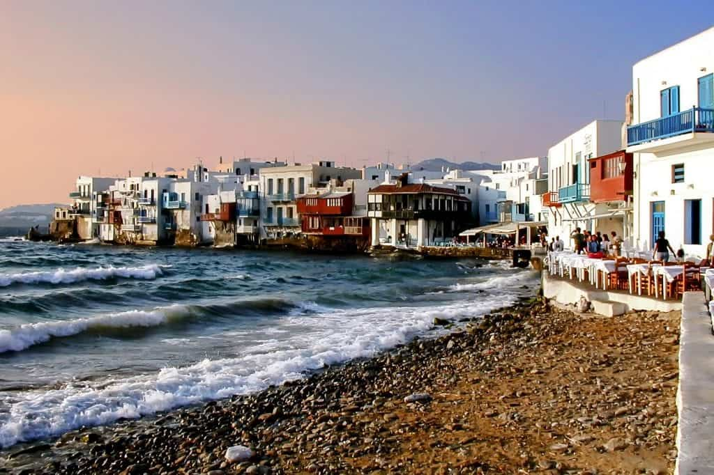 Greece - Mykonos - Beach - Pixabay