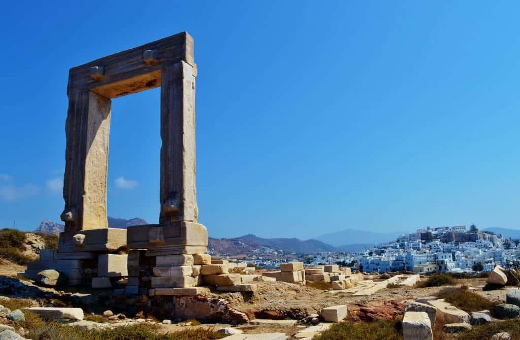 Greece - Naxos - Ruins - Pixabay