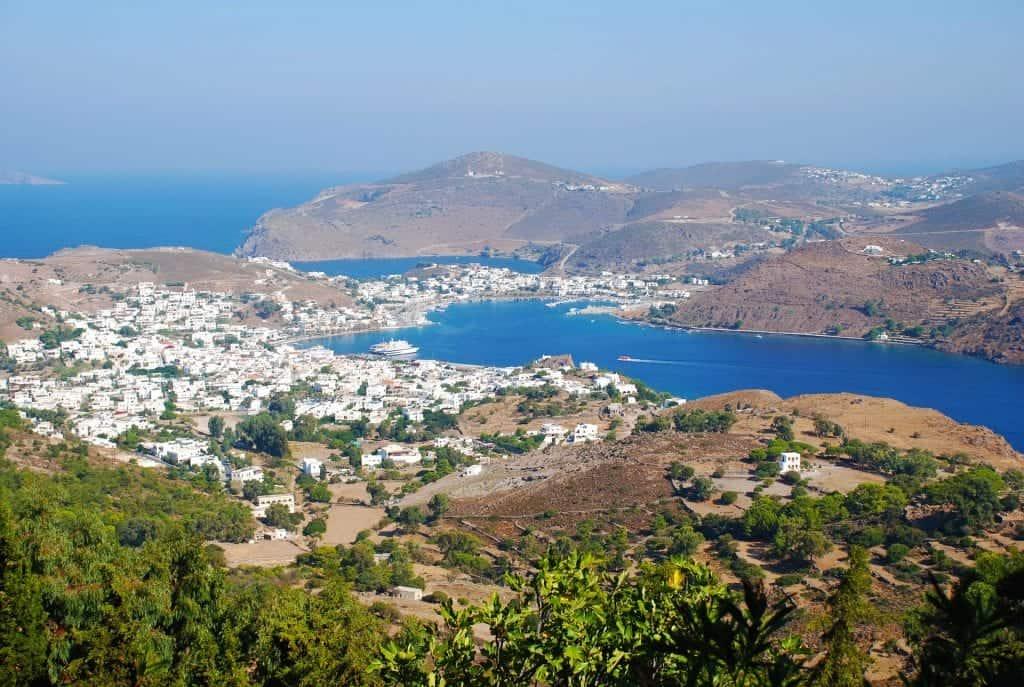 Greece - Patmos - Drone - Pixabay