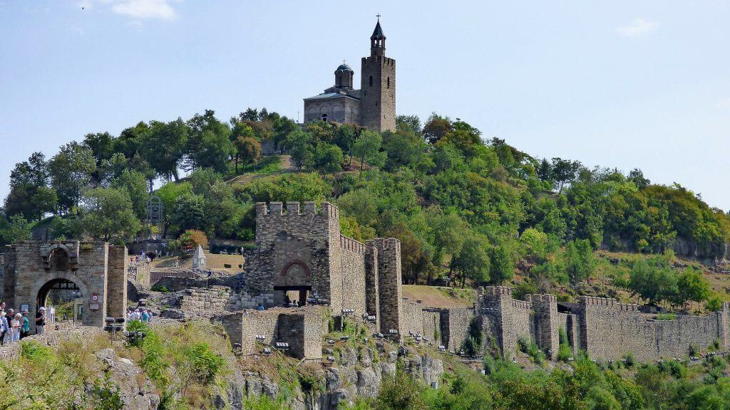 Bulgaria - Veliko Tarnovo - Tsarevets - Pixabay - Bulgarian Castles