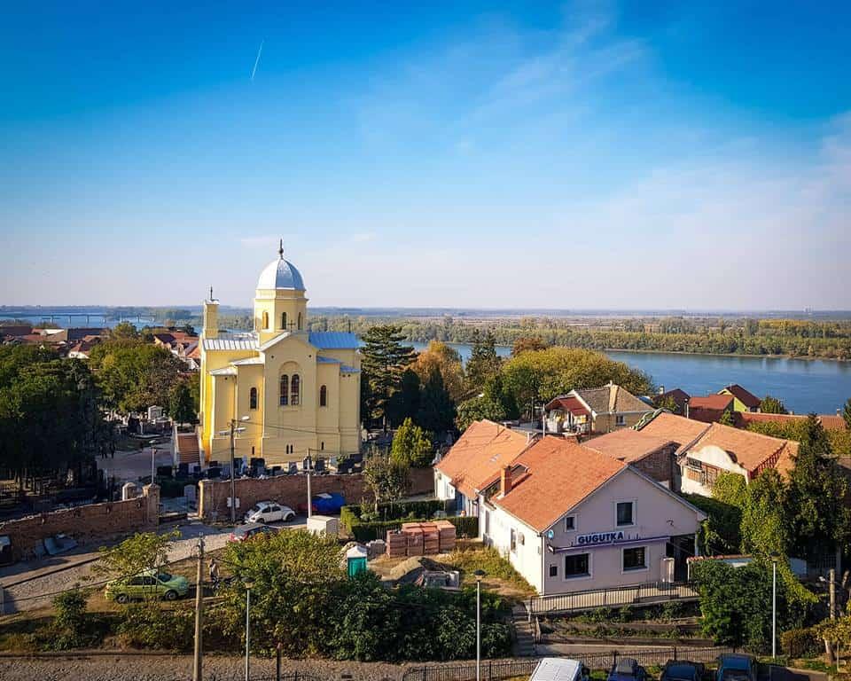 Serbia - Belgrade - Yellow Church