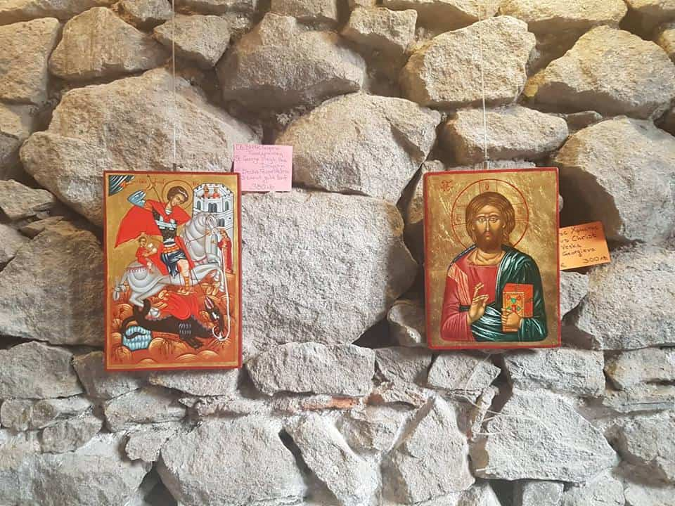 Bulgaria - Plovdiv - Hand painted icon souvenir