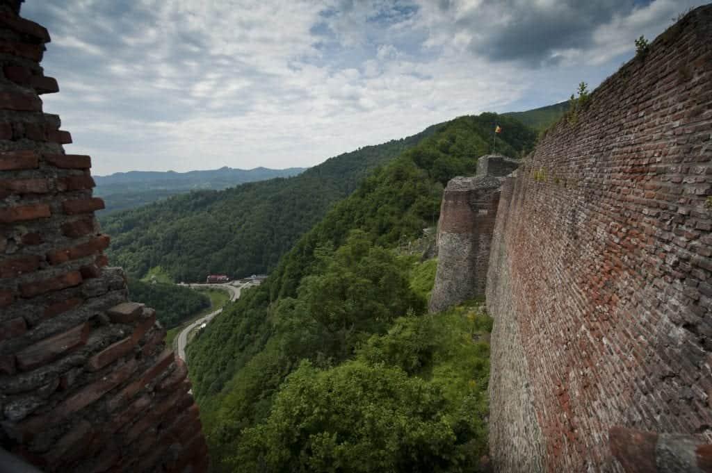 Romania - Poenari Citadel - Wikimedia Commons